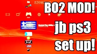 How To Set Up A Ps3 Jailbreak Basic Info On Ps3 Modding How To Mod Bo