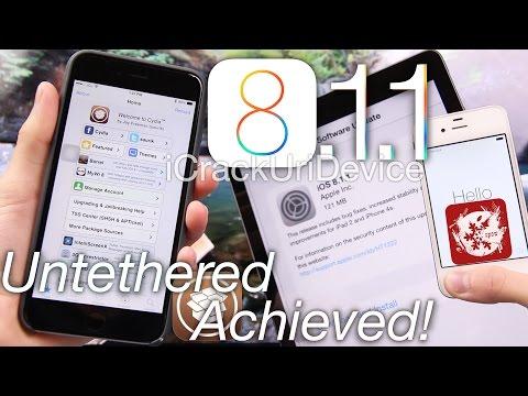 iOS 8.1.1 Jailbreak Update, Untethered iOS 8 Jailbreak On 8.1.1 Achieved! iOS 8.2 Release & More