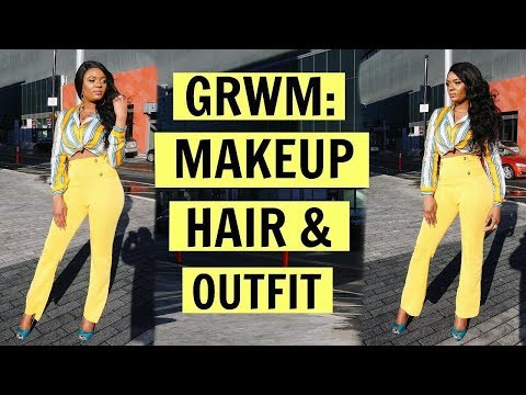 GET READY WITH ME | SPRING BREAK | MAKEUP, HAIR & OUTFIT + JULIA HAIR GIVEAWAY  | OMABELLETV