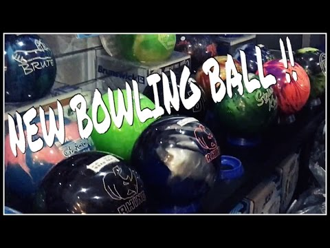 Buying a new reactive bowling ball !
