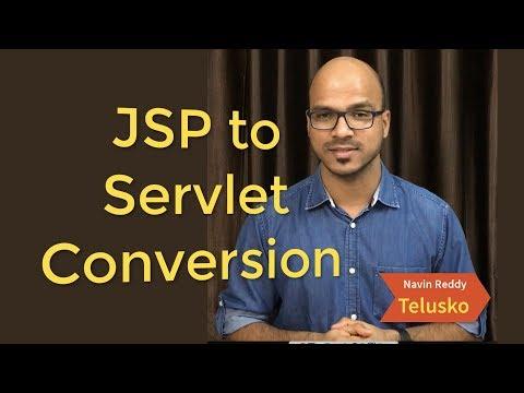 JSP to Servlet Conversion | Netbeans