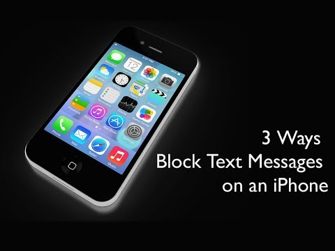 3 Ways To Block Text Messages On Your iPhone