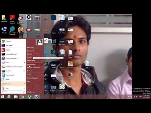 How to add Start Menu to Windows 8/8.1 in Hindi (हिंदी में)