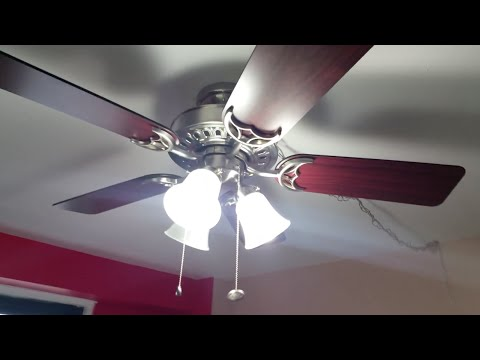 DIY How To Install Ceiling Fan Using Swag Kit On Concrete Ceiling Anywhere