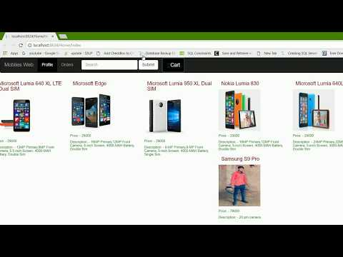 How to Create a Online Shopping Cart Website in C# MVC | Shopping Cart Application