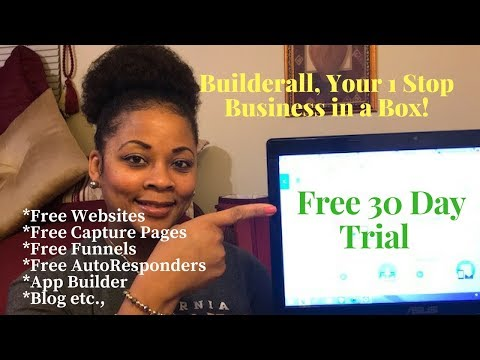 Builderall ~ Free 30 Day Trial, The Ultimate 1 Stop Business In A Box!