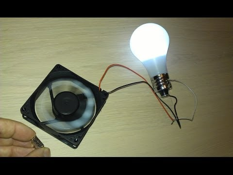 Free Energy Magnet Motor fan used as Free Energy Generator