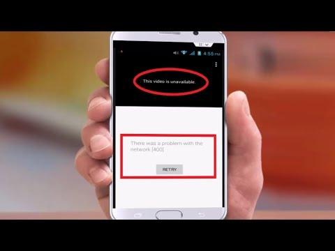 How to Fix Youtube Error There Was a Problem with the Network (400) in Android
