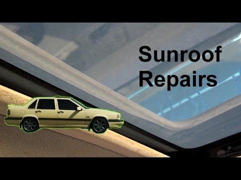 Sunroof Motor Removal, Glass Removal, Leak Repair, Volvo - Auto Repair Series