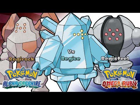 Pokemon Omega Ruby/Alpha Sapphire - Battle! Regirock/Regice/Registeel Music (HQ)