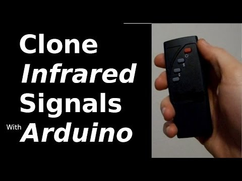 Fast Hacks #16 - Clone Infrared Signals with Arduino