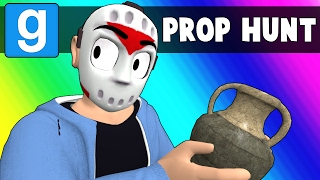 Gmod Prop Hunt Funny Moments - Oceans Elevens? (Garry