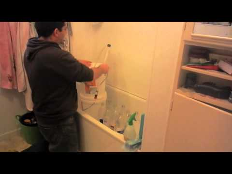 How to Sanitize Plastic Bottles! Using a Auto Siphon NEW!