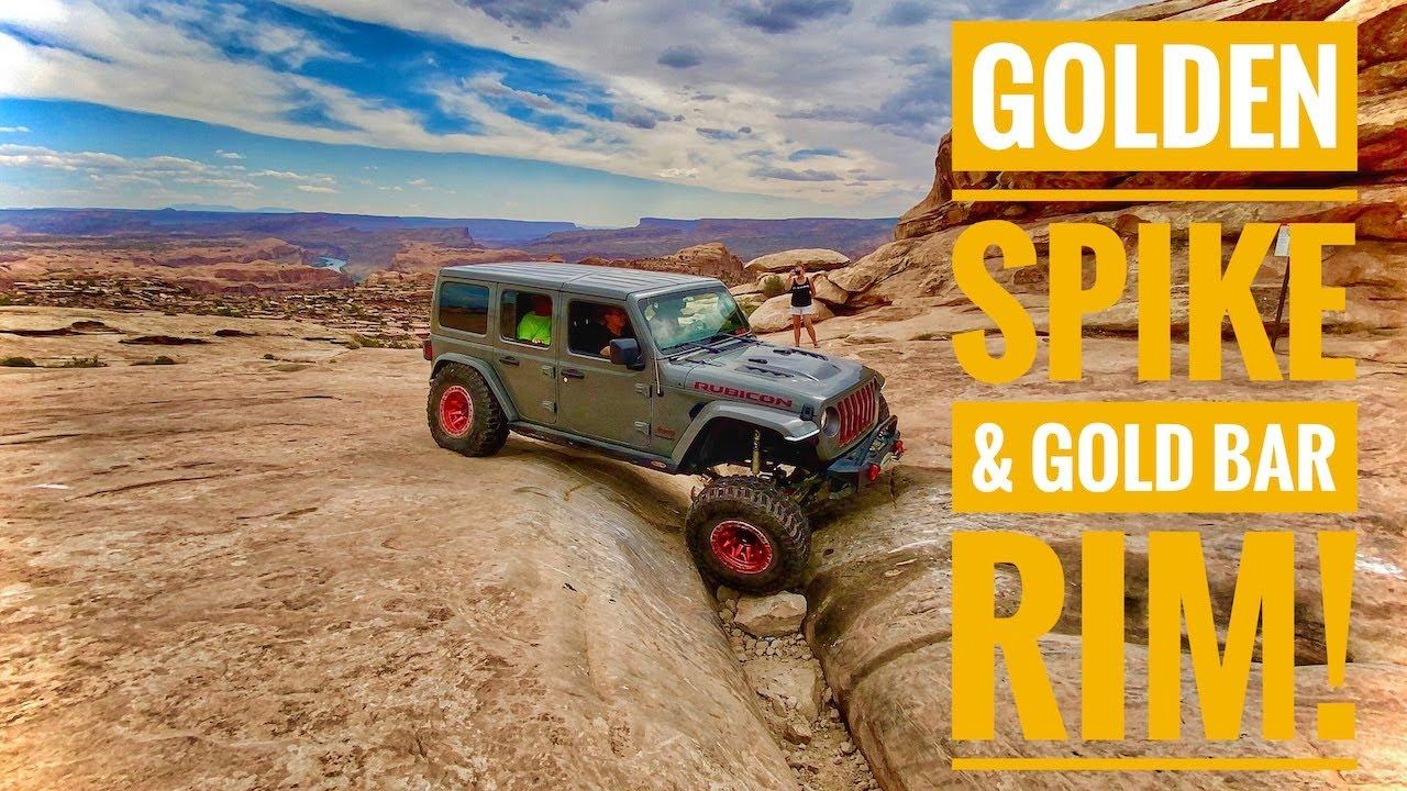 Golden Spike, Gold Bar Rim and Gemini Bridges. Moab Utah Jeep Trails/Geahr Offroad/Adventure Awaits