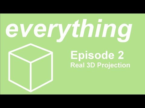 Everything 3D Ep. 2 - Real 3D Projection
