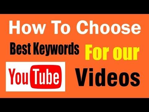 MCA - Youtube Keywords Training - 2017
