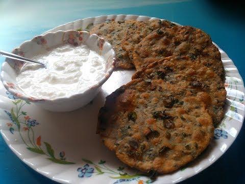 Methi ki puri,crispy methi puri,easy recipe in hindi