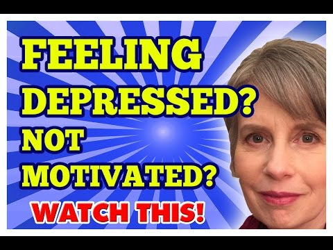 Dealing with Depression? Lack of Motivation? This Helped!
