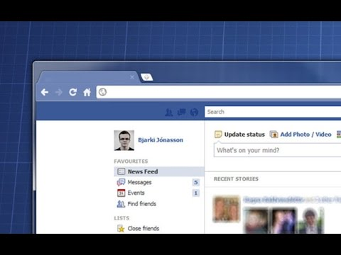 Change Your Chrome Theme to facebook Style - Facebook Theme