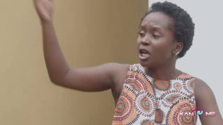 The toilet paper pressure.  Kansiime Anne.