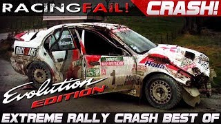 MITSUBISHI LANCER EVO WRC Rally Crash Extreme Best Of | Rally Sardegna 2018
