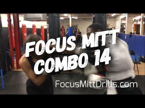 Boxing Focus Mitt Combo 14 Basic Mitts Boxing Pad Work Drills Focus Mitt Combinations