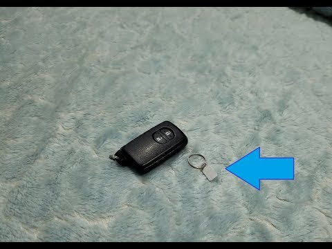 Toyota Aqua Immobilizer Key ID (Key Plate) and its importance