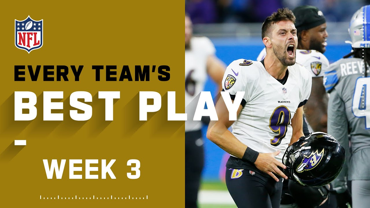 Every Team's Best Play From Week 3 | NFL 2021 Highlights