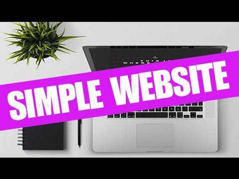How to Make a SIMPLE WordPress Website: 😍STEP BY STEP - 2017