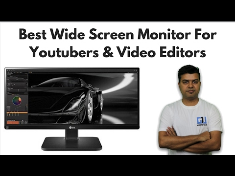 LG 25 LED Wide Screen, Best Monitor For Video Editors, Youtubers, Unboxing, Review | Gadgets To Use