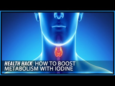 How to Boost Metabolism with Iodine: Health Hacks- Thomas DeLauer