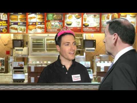 Randy Rainbow Works at Chick-fil-A