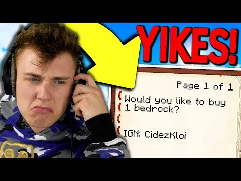 READiNG AND RESPONDiNG TO YOUR SKYBLOCK TRADE OFFERS... ( Minecraft Skyblock )