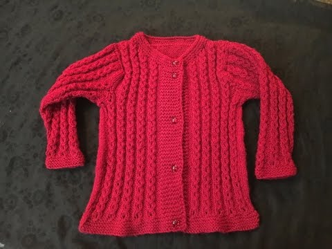 3 - Year Old Baby Sweater in Urdu/Hindi by Azra Salim