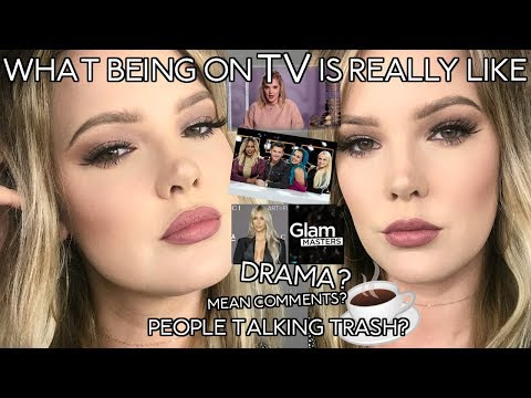 MAKEUP I WORE ON GLAM MASTERS ADDRESSING THE DRAMA // Mallory1712