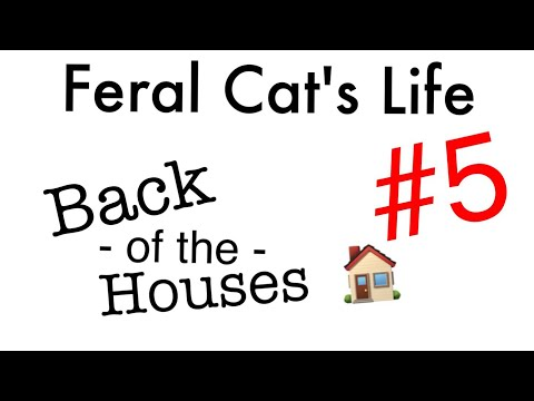 Feral Cat's Life 5 · Back of the Houses
