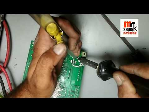 How to remove and install components, IC, really etc on double layer PCB,  components easy way