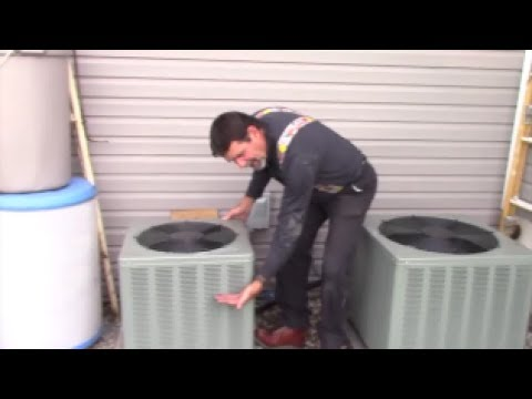 Air Conditioner prep in spring - air flow for heat and moisture