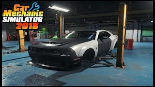 Car Mechanic Simulator 2018 - Junkyard Rescue Nissan GTR R35
