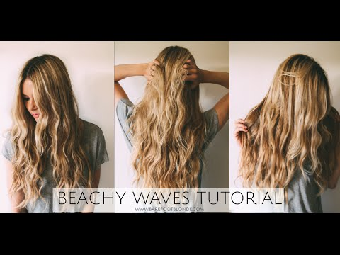 TUTORIAL | Beachy Wave Tutorial