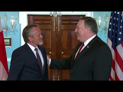 Secretary Pompeo Meets With Danish Foreign Minister Samuelsen
