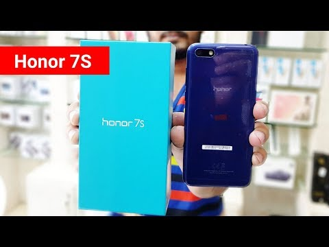 Honor 7S Unboxing & First impression !