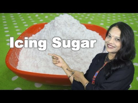 Icing Sugar - Homemade Confectionary Sugar