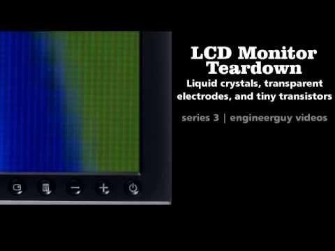 LCD Monitor Teardown