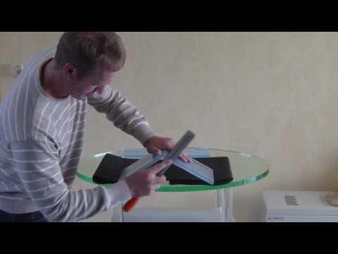 How to glue Acrylic * Gluing bent and cut acrylic - Ecken und Kanten kleben