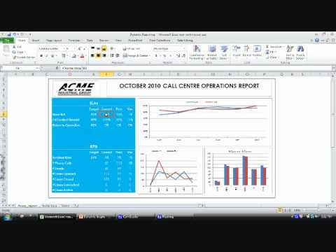 Creating Dynamic Excel Charts & Data Tables that Automatically Update.