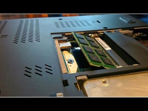 How to Increase Laptop's Physical Memory