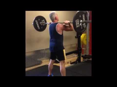 Power Training for Aging Athletes: Power Cleans