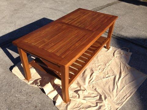 Oceanic Teak Furniture Care & Maintenance Part 2