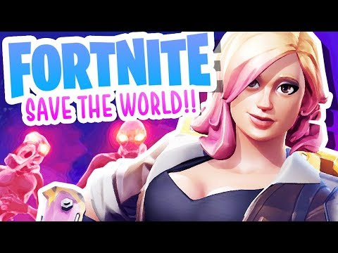 FORTNITE SAVE THE WORLD!!!